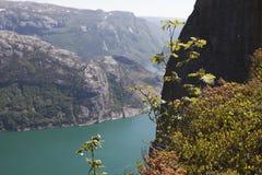Lysefjorden Stock Afbeeldingen