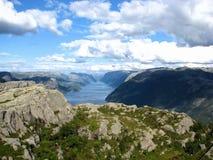 Lysefjorden, Norvège Photographie stock libre de droits