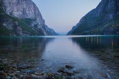 Lysefjorden in Norvegia Immagine Stock