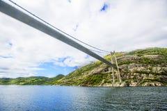 Lysefjordlandschap noorwegen Royalty-vrije Stock Foto's