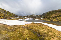 Lysevegen Norwegen Lizenzfreies Stockfoto