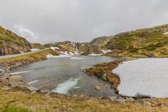 Lysevegen Norwegen Lizenzfreie Stockfotografie
