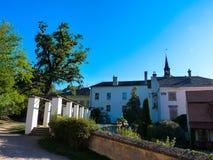 Lysice城堡 库存图片