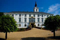 Lysice baroque castle. Royalty Free Stock Photo