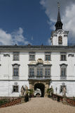 Lysice chateau Royalty Free Stock Photo