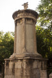 Lysicrates纪念碑 免版税库存图片