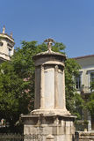 Lysikrates monument at Plaka, Athens Stock Photo