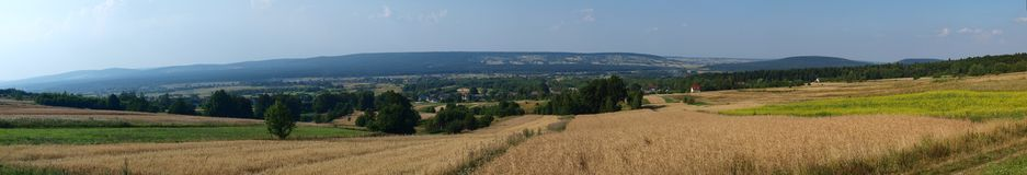 Lysogory, Swietokrzyskie Mountains, Poland Royalty Free Stock Photos