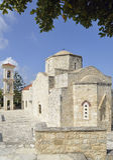Lysos教会 免版税库存图片