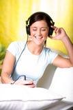 Lyssna till musiken Royaltyfri Bild