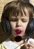 lyssnar missyen Fotografering för Bildbyråer