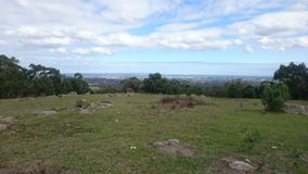 Lysterfield park, Australia Zdjęcie Royalty Free