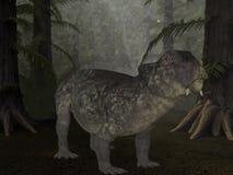 Lystrosaurus- 3D Dinosaurus vector illustratie