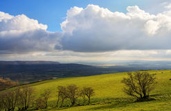 Lyth Valley in Cumbria Royalty Free Stock Photography