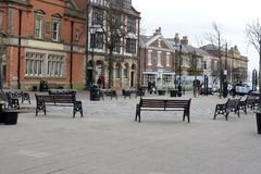 Lytham Town Centre Royalty Free Stock Images