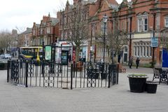 Lytham Town Centre Royalty Free Stock Photos