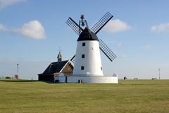 Lytham Windmill Stock Photo