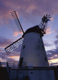 Lytham windmill, dusk, Lancashire Stock Photo