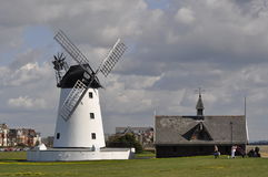 Lytham Windmill stock images