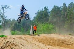 LYTKARINO, RÉGION de MOSCOU, RUSSIE - 18 mai 2013 : tasse MOIS de motocross Photos libres de droits