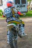 LYTKARINO, RÉGION de MOSCOU, RUSSIE - 18 mai 2013 : tasse MOIS de motocross Image stock