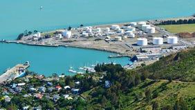 Lyttelton克赖斯特切奇-新西兰 免版税库存图片
