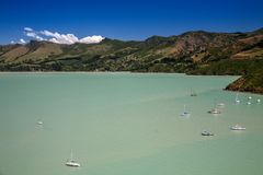 Lyttelton, Canterbury, New Zealand Royalty Free Stock Photo
