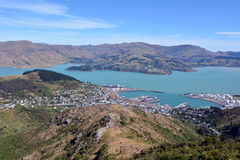 Lyttelton Christchurch - New Zealand Royalty Free Stock Photography