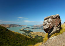 Lyttelton Harbour New Zealand Royalty Free Stock Photo