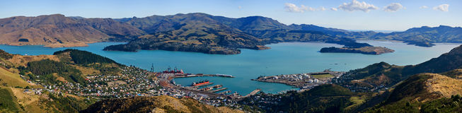 Lyttelton town Royalty Free Stock Images