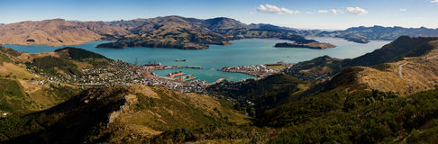 Lyttelton town Royalty Free Stock Photography