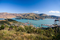 Lyttelton town Stock Photography