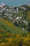 lyttleton χωριό στοκ εικόνα με δικαίωμα ελεύθερης χρήσης