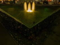Lytton Plazaspringbrunn Royaltyfria Bilder