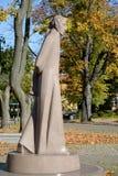 Памятник Lyudvikasu Reza (Ludwig Reza) (1776-1840) в Калининграде Стоковые Изображения RF