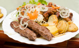 Lyulya kebab Stock Image