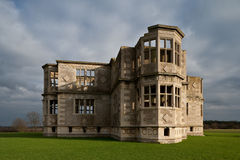 Lyveden New Bield. Historic unfinished Elizabethan mansion in Northamptonshire England Stock Photography