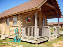 Lyvely cabin in Quintana beach Royalty Free Stock Photography