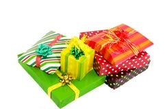 lyx många presents Arkivfoton