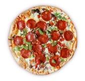 Lyx- pizza arkivbilder