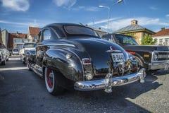 1948 lyx- Plymouth för 2 dörr sakkunnig Royaltyfria Bilder