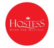Lyxfnask med Mostessen Logo Design royaltyfri illustrationer