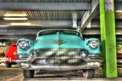 Lyxig amerikansk 50-tal Cadillac Arkivbild