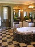 lyxig badrum Royaltyfri Bild