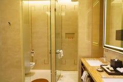 Lyxig badruminre Arkivbilder