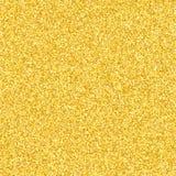 Lyxig bakgrund av guld blänker Guldstoftgnistrande Guld- textur för din design Små guld- konfettier Det guld- glödet Vecto arkivbilder