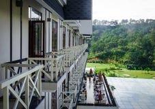 Lyxig bergsemesterort i Dalat, Vietnam Arkivbild