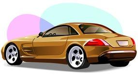 Lyxig bil Fotografering för Bildbyråer