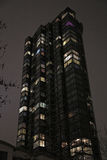 Lyxig bostads- husnatt Arkivfoto