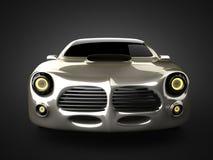 Lyxig brandless sportbil Fotografering för Bildbyråer